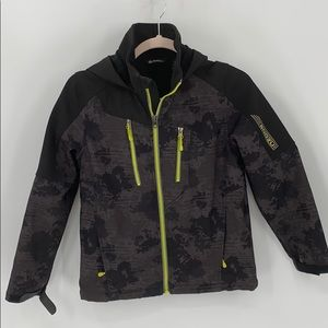Snozu soft shell jacket YOUTH size M